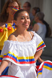 从委内瑞拉的妇女 免版税库存照片