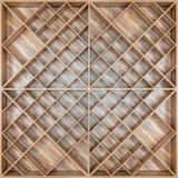 委员会酒或者书的木方形的架子有beautifu的 库存图片