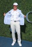 委员会主席网球频道隆重的肯所罗门的和CEO在美国公开赛2016人` s决赛前 免版税库存照片