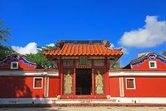 姘妇五寺庙 库存照片