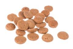 姜坚果, Sinterklaas事件的荷兰糖果在12月 库存图片