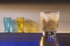 姜汁无酒精饮料 库存图片