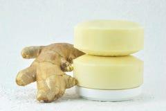 姜肥皂。 图库摄影