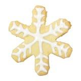 姜饼被隔绝的雪伪造品 库存图片