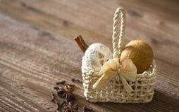 姜饼结块用香料 免版税库存图片