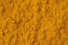 姜黄或姜黄素香料 免版税库存图片
