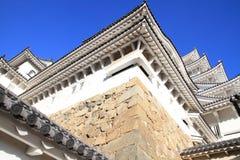 姬路城堡在姬路,兵库 库存图片