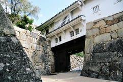 姬路城堡门 免版税库存照片