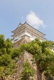 姬路城堡,日本Kanoyagura塔  联合国科教文组织站点 免版税库存图片