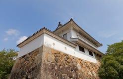 姬路城堡,日本Keishoyagura塔  联合国科教文组织站点 免版税库存图片