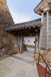 姬路城堡,日本Mizunoichi门  联合国科教文组织站点 免版税图库摄影