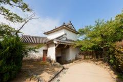 姬路城堡,日本Ninomon门  联合国科教文组织站点 库存图片