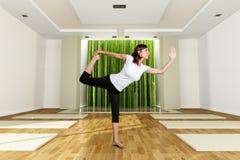 姿势瑜伽 库存照片