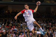 1 26 34 2010威严的捷克最终grosswallstadt手球符合nove共和国评分电视veseli与 库存照片