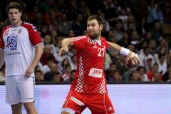 1 26 34 2010威严的捷克最终grosswallstadt手球符合nove共和国评分电视veseli与 免版税库存照片