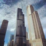 威利斯塔在芝加哥 免版税库存图片