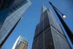 威利斯塔,芝加哥 免版税图库摄影