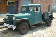 1953年威力斯吉普卡车在布鲁克林 库存图片