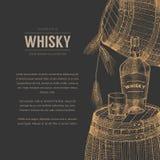 威士忌酒例证 皇族释放例证