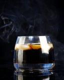 威士忌酒和可乐 库存图片