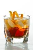威士忌酒和可乐 免版税库存照片