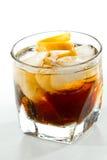 威士忌酒和可乐 库存照片