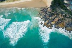 威士忌酒海湾,威尔逊` s海角,澳大利亚 免版税图库摄影