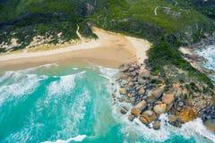 威士忌酒海湾,威尔逊` s海角,澳大利亚 图库摄影