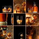 威士忌酒混合 免版税库存照片