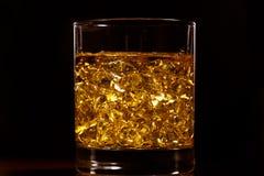 威士忌酒金子  库存图片