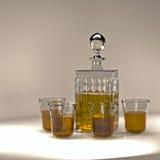 威士忌酒集合 免版税库存图片