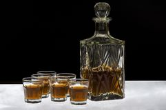 威士忌酒 库存图片