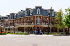 威尔士亲王旅馆在湖的尼亚加拉,安大略,加拿大 免版税库存照片