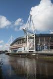 威尔士全国体育场加的夫 库存图片