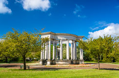 威尔士全国战争纪念建筑在亚历山德拉庭院 库存图片