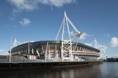 威尔士国民体育场 库存照片