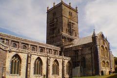 威尔士大教堂 免版税库存图片
