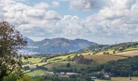 威尔士山 库存图片