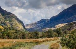 威尔士山 免版税库存照片