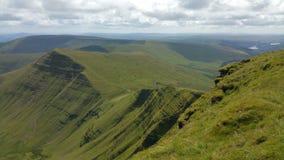威尔士山 库存照片