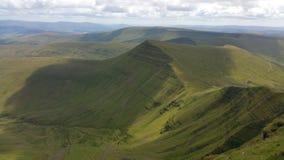 威尔士山 免版税库存图片