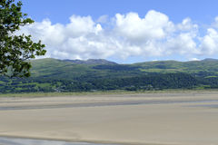 威尔士海岸线 免版税库存图片