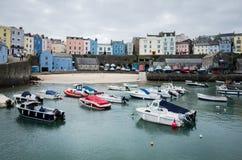 威尔士海岸, Pembrokeshire 库存照片
