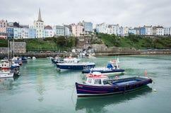 威尔士海岸, Pembrokeshire 免版税库存图片