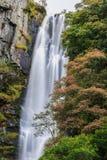 威尔士瀑布 库存照片
