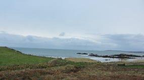 威尔士的海岸 图库摄影