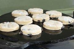 威尔士蛋糕烘烤 图库摄影