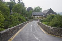威尔士镇街道 免版税库存照片