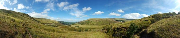 威尔士风景 免版税库存图片