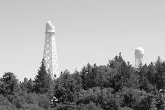 威尔逊山天文台姊妹楼 库存图片